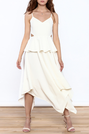 Strut & Bolt White Sleeveless Flowy Dress - Product Mini Image