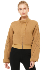 ALO Yoga Strut Jacket - Front cropped