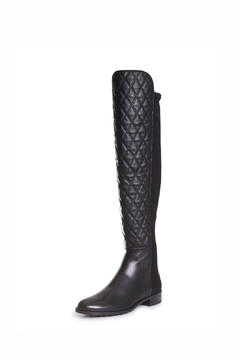 Shoptiques Product: Quilted Black Boots