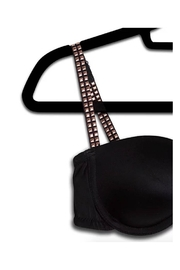 Lets Accessorize Stud Bra Strap - Front full body