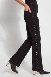 Lysse Studded Bell Bottoms - Product Mini Image