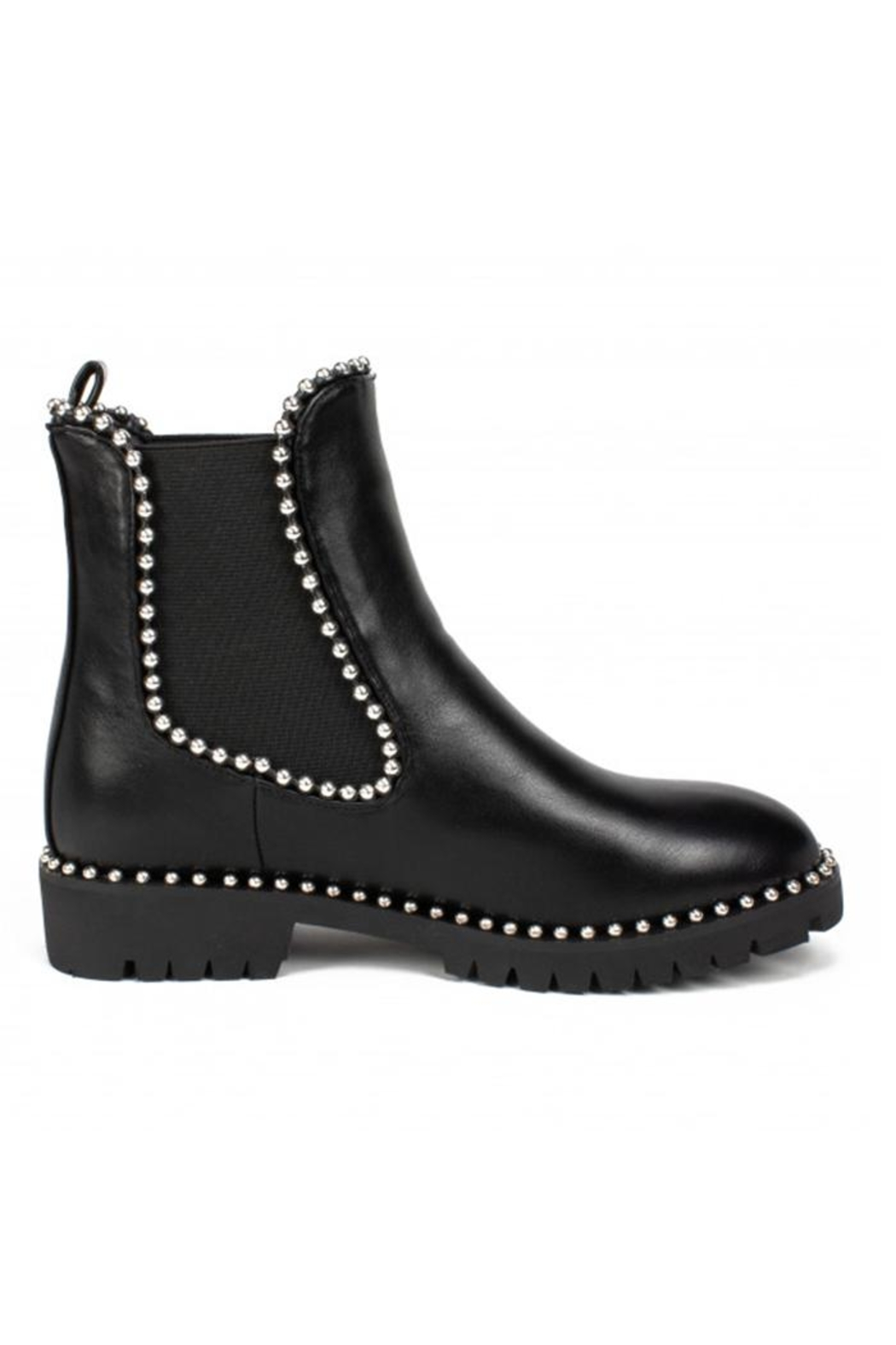 Seven Bear Studded Bootie - Side Cropped Image