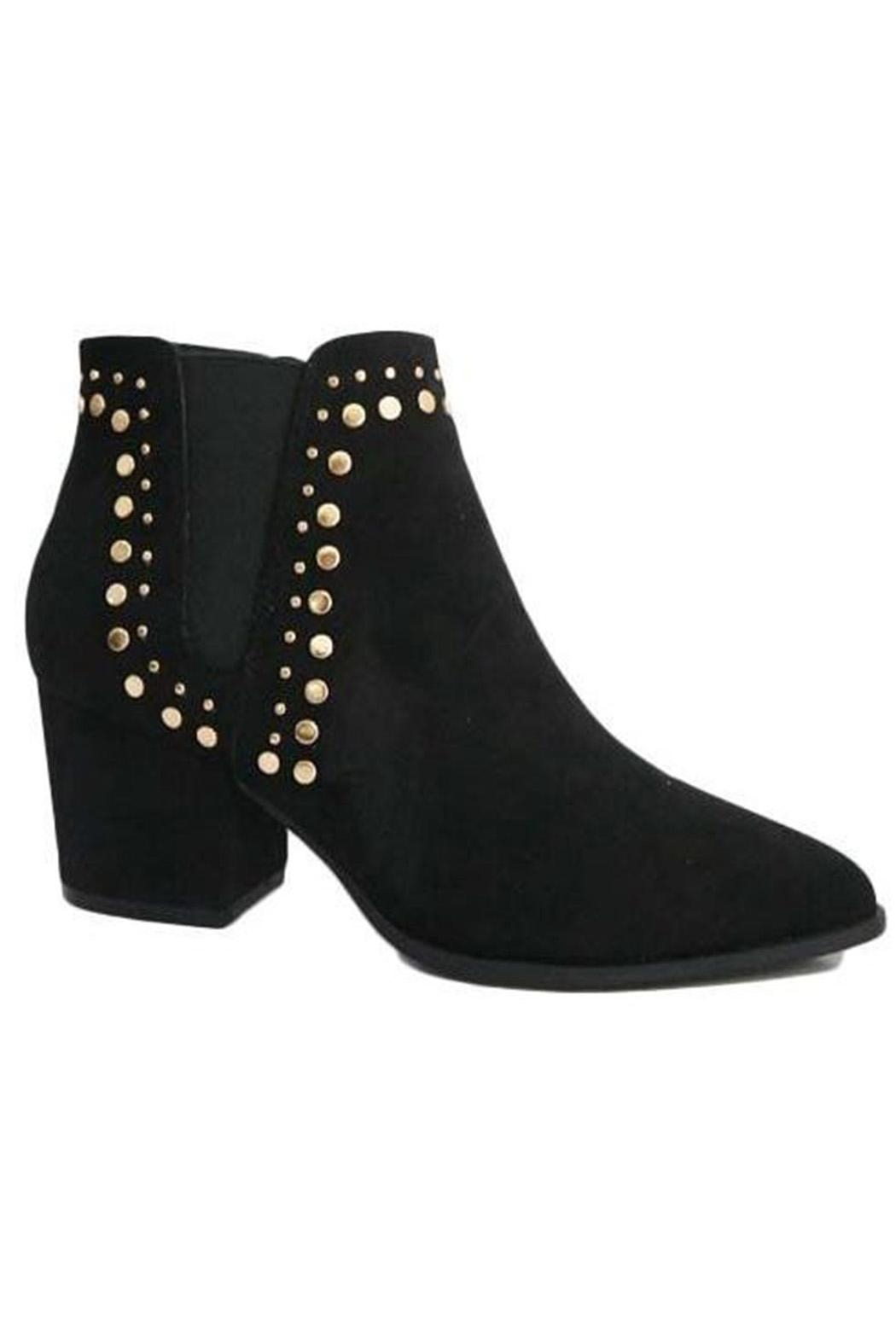 Bamboo Studded Bootie - Main Image