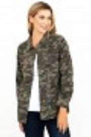 Kut from the Kloth Studded Camo Jacket - Product Mini Image