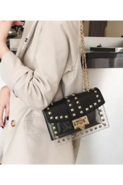 Appleblossom  Studded Clear Bag - Product Mini Image