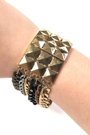Lets Accessorize Studded-Embellished Chain Bracelet - Product Mini Image