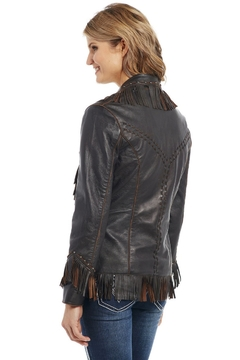 Cripple Creek Studded Fringe Jacket - Alternate List Image