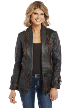 Cripple Creek Studded Fringe Jacket - Product List Image