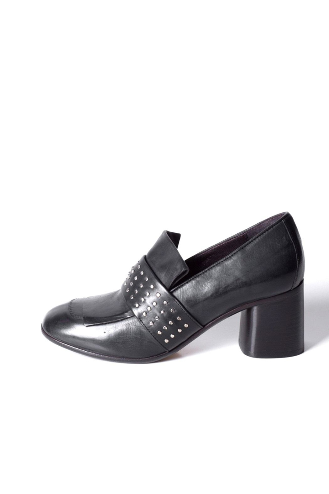 Keep Studded Heel Loafer - Main Image