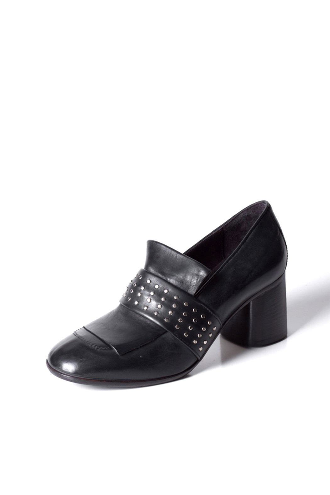 Keep Studded Heel Loafer - Front Full Image