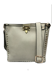 INZI Bags Studded Ivory Crossbody - Product Mini Image