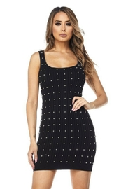 Hot & Delicious Studded Knit Dress - Product Mini Image