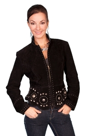 Scully  Studded Leather Jacket - Product Mini Image