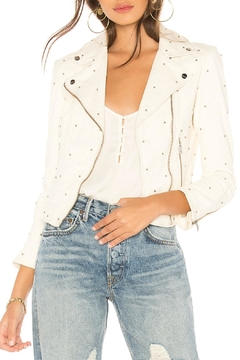 Lamarque Studded Leather Jacket - Product List Image
