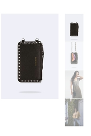 Bandolier Studded Leather Pouch - Product Mini Image