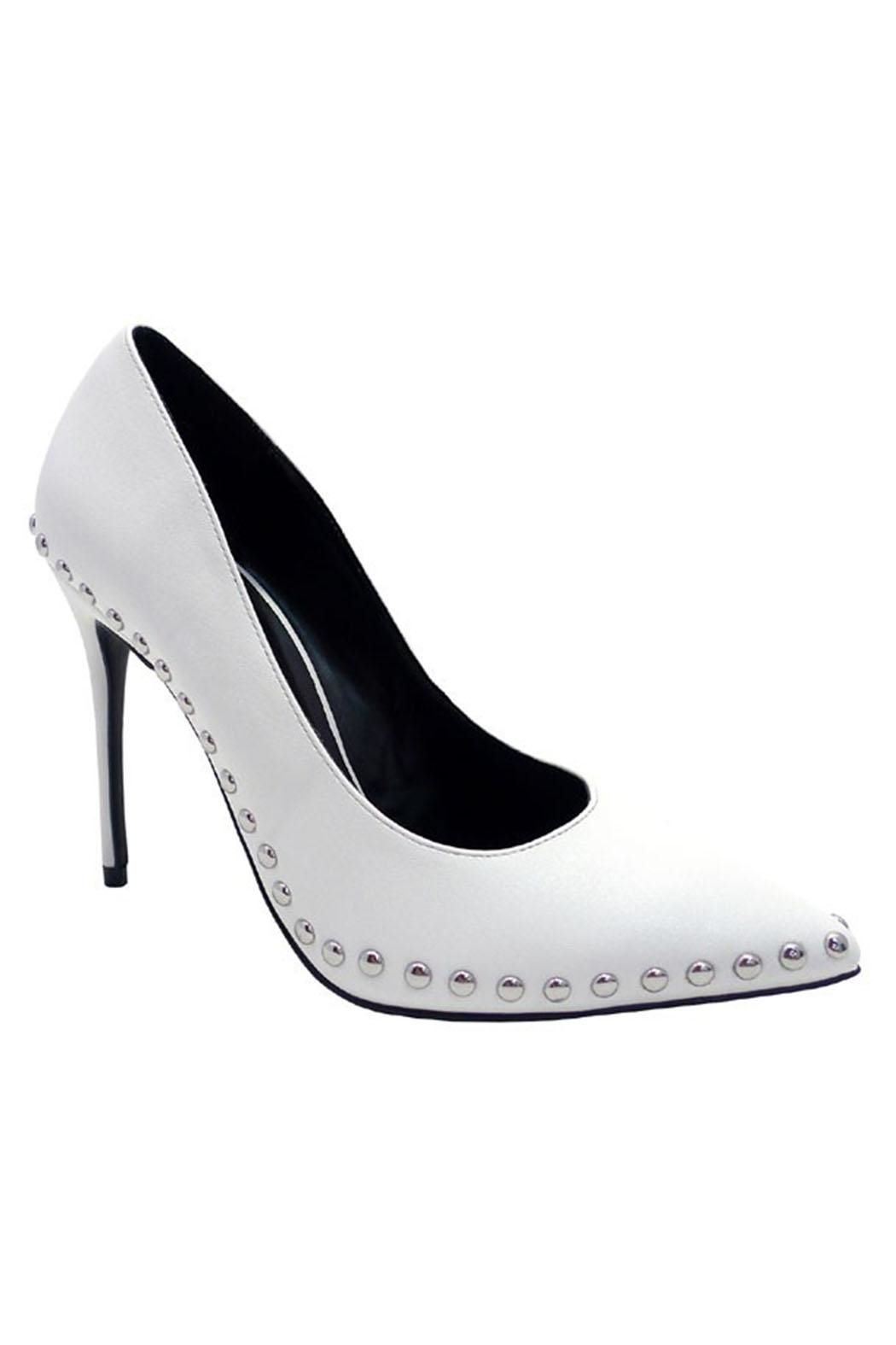Wild Diva Studded Pumps - Front Cropped Image