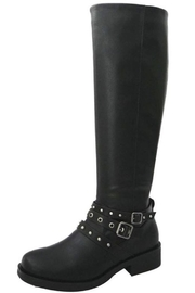 Bamboo Studded Riding Boot - Product Mini Image