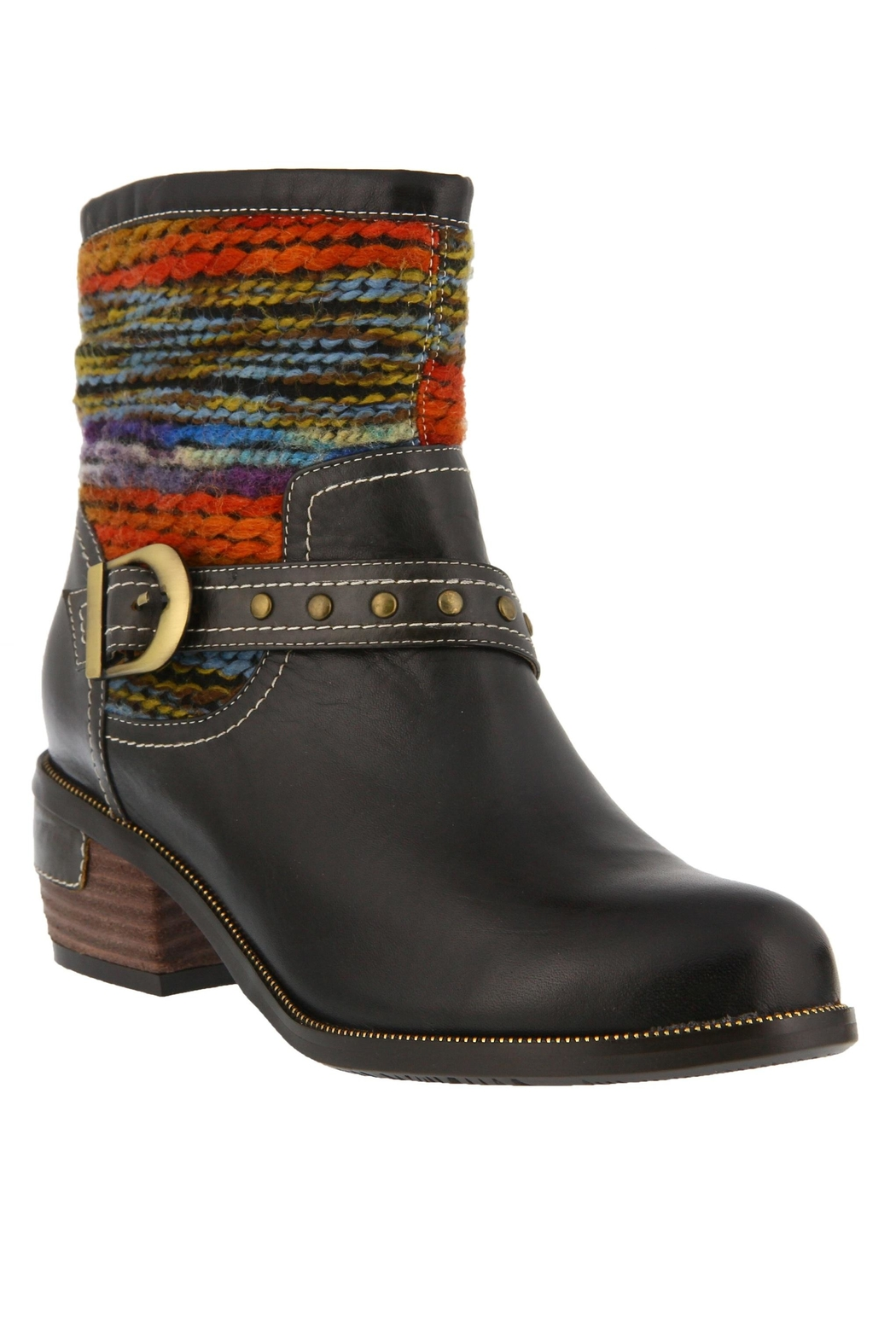 Spring Footwear Studded Strap Bootie - Main Image