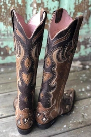 Miss Macie Boots Studded Stunner Boot - Front full body
