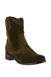 Shop Now: Studded Suede Bootie. Featured at RMNOnline Fashion Group. (#RMNOnline)