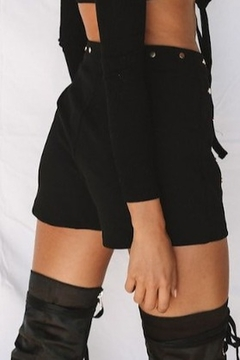 ONE AND ONLY COLLECTIVE Studded Suede Short - Alternate List Image