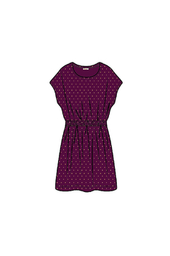 Ella Moss Studded Velour Dress - Product List Image