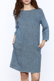 Studio 412 Denim Shift Dress - Product Mini Image