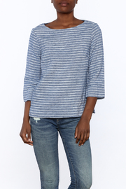 Studio 412 Multi Stripe Box Top - Front cropped