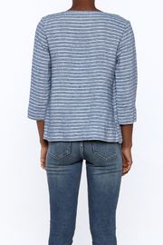 Studio 412 Multi Stripe Box Top - Back cropped