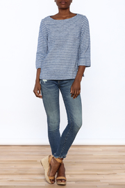 Studio 412 Multi Stripe Box Top - Front full body