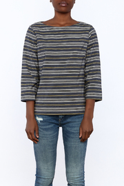 Studio 412 Stripe Box Top - Side cropped