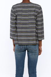 Studio 412 Stripe Box Top - Back cropped