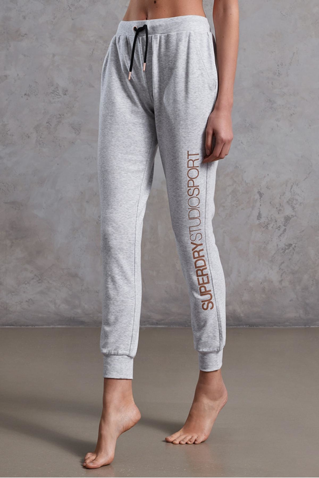 Superdry Studio Supersoft Jogger - Front Full Image