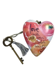 Studio by Demdaco Collectable Sculpted Heart - Front cropped