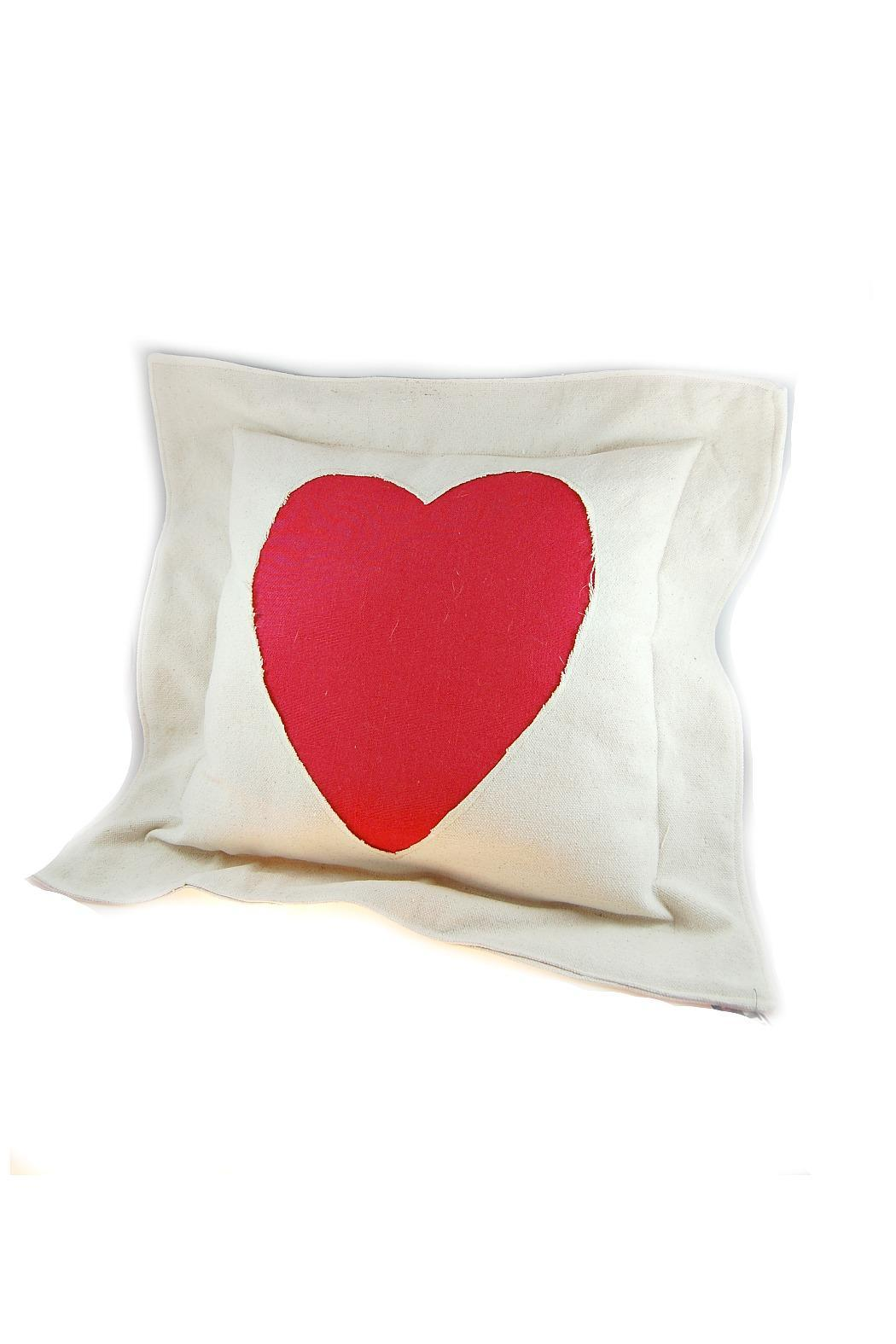 Red Heart Decorative Pillow : Studio Virtu Red Heart Pillow from Des Moines ? Shoptiques