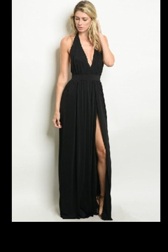 Cefian Stunning Black Gown - Product List Image