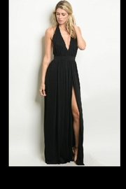Cefian Stunning Black Gown - Product Mini Image