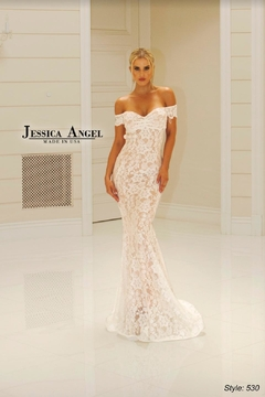 Jessica Angel Stunning Lace Gown - Product List Image