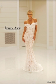 Jessica Angel Stunning Lace Gown - Product Mini Image