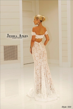 Jessica Angel Stunning Lace Gown - Alternate List Image