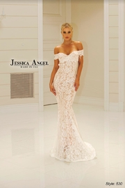 Jessica Angel Collection Stunning Lace Gown - Product Mini Image