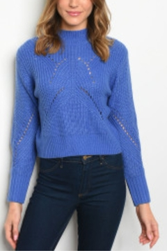 Lyn-Maree's  Stunning Lace Up Back Sweater - Alternate List Image