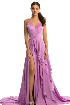 Johnathan Kayne Stunning Orchid Gown - Product List Image