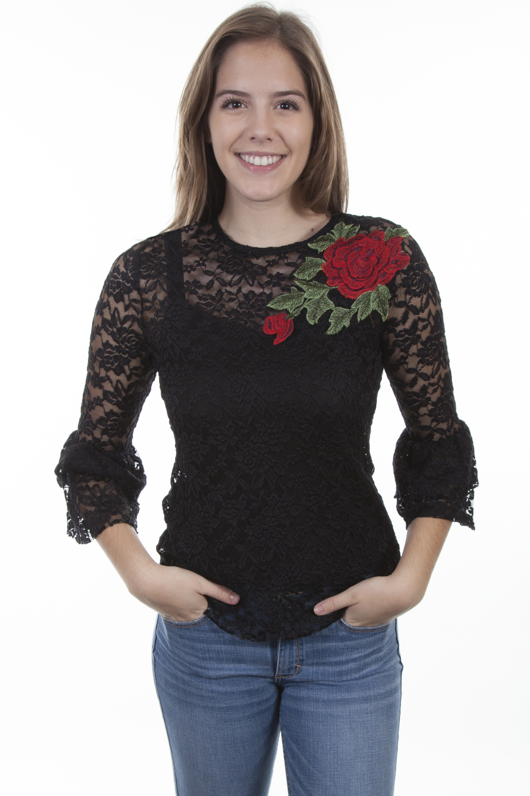 Scully  Stunning Rose Top - Main Image