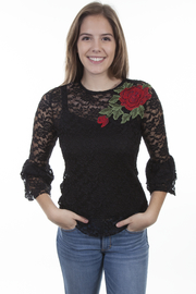 Scully  Stunning Rose Top - Product Mini Image