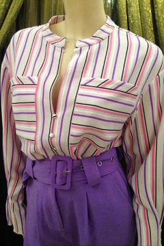 Hofmann Copenhagen Stunning Striped Blouse - Product List Image