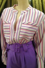 Hofmann Copenhagen Stunning Striped Blouse - Product Mini Image