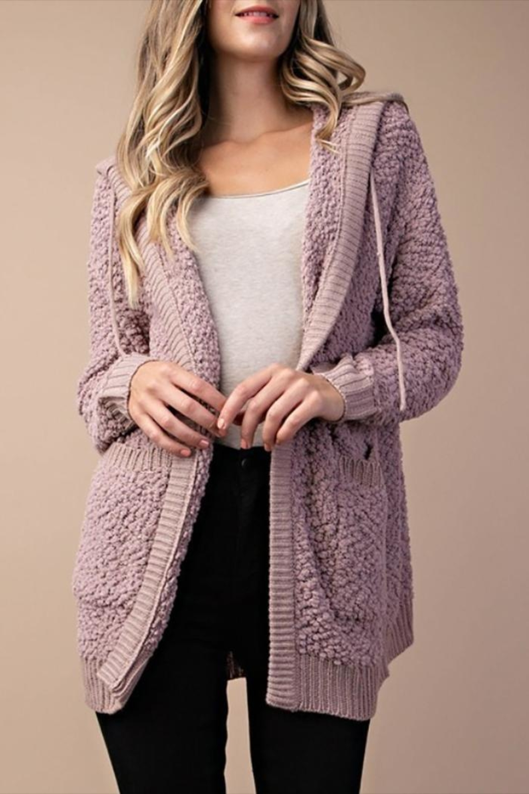 7a0474c9910 style Popcorn Hooded Cardigan from Mississippi by Lucky Liles ...