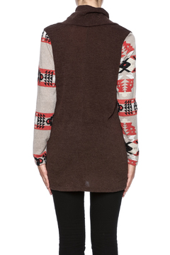 Shoptiques Product: Brown Aztec Sweater