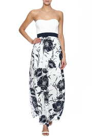 Style Rack Navy Floral Maxi - Front full body